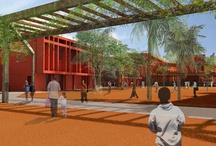 DJ / Agence A.Yedid & Terreneuve - Dakar / Lycée français Dakar Terreneuve & Adam Yedid architecte D. Jaoul participation concours Prix Afex 2012