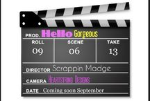 September Housecalls: Hello Gorgeous / A fun kit that is sure to make you feel like a star!