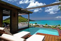Antigua - Hermitage Bay / In a secluded bay on the Caribbean side of the island of Antigua sits the 5 star luxury resort of Hermitage Bay.  Made up of 25 spacious free standing cottage suites and flanked by over 140 acres of lush undeveloped land, guests of Hermitage Bay truly feel as if they have been transported to their own private island.