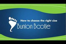 Bunion Bootie Videos / How to pick the right size Bunion Bootie, and more!