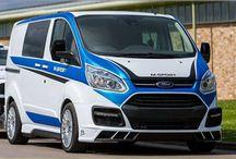 Custom Transit Van