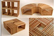 mobiliario multifuncional simple