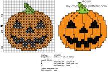 Schemi punto croce Halloween / Schemi punto croce Halloween