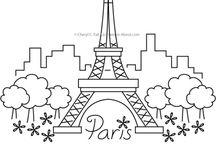 Paris printables etc