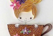 quilling bucatarie