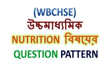 Higher Secondary Question Pattern of Nutrition Subject | WBCHSE