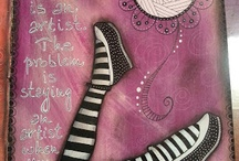 Art Journaling / Ideas and Inspirations