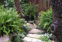 Chodníky v zahradách