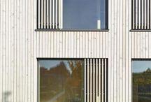 Haus - Fassade Holz