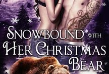 Snowbound with Her Christmas Bear - Wylde Den #4 / Pinboard for all the inspiration behind Rone and Sabine's story Snowbound with Her Christmas Bear. #alaskandenmen #paranormalromance #werebearromance #eroticromance #wyldeden