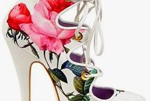 Shoes, printed