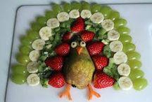 dekorativ ételek - ételdekorációk