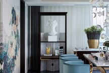 French chic and neoclassical interior