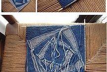 Пэчворк. Вязание спицами и крючком.