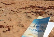 Les vacances / Je suis en vacances depuis plusieurs jours et enfin le soleil se montre le nez. Entre quelques rencontres agréables avec des gens formidables, je prends le temps de lire un peu. Voici mes deux endroits préférés pour la lecture...