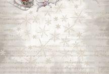 Christmas Scrapbooking Paper