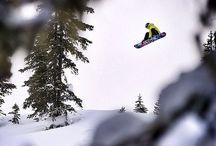 Pow Pow / Snowboarding