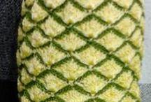 Crochet  - Puxa saco