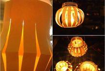 Basteln: Kerzen & Lichter