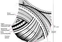 Samoanische Tattoos