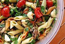 mozzarella nudel salat