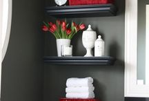 Bathroom ideas / by Angela Frayne