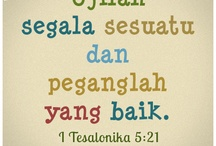Tetaplah menjadi TERANG DUNIA, bersama Yesus