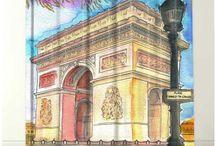 PARIS STYLE SHOWER CURTAINS