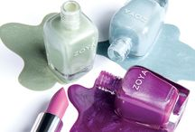 Charming: Spring 2017 / Spring arrives with six new nail colors + a new lipstick from Zoya including three fresh creams and three dewy micro-sparkles.All in the long-wearing two coat, full-coverage formula nail polish lovers love.