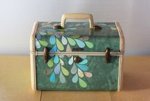 Train Cases/Suit Cases / by Nancy Mays