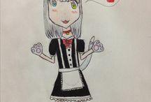 Meus desenhos(*^ω^*)