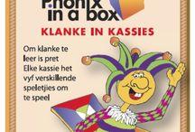 Klanke in Kassies / Afrikaans phonic cards