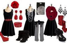 Accessorising that Black dress