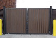 ToughGate / Building owners, designers and architects choose ToughGate™ for its strength, style, superior performance and affordability. Available in a wide range of sizes and styles, our distinctive architectural gates are an ideal addition to an existing enclosure, partition, fence/wall opening point, or for use with one of our Covrit® solutions.