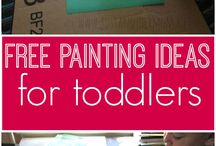 Fun for Kids ♡ / Spend quality time with the kiddos crafting or doing fun activities! | kids crafts | kids activities | crafts for kids | activities for kids | painting | crafting | building | kids games