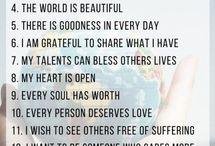 Compassion affirmations