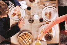 Gatherings / Ideas for moments spend with good friends and delicious food.
