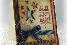 Cards - Patriotic / by Cindy Sargent