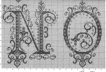 cross stitch monograms