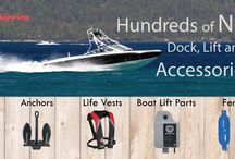 Around the Dock, Boat and Trailer / Find all your accessories for any lake project in one place!
