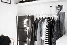 Ideas for walk-in closet