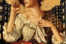 Opera posters. Puccini. La boheme