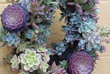 puutarhaisia koristeita