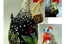 Calabazas decoradas