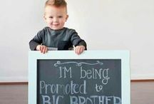 Expecting #2! / Nursery, toddler room, pregnancy announcement / by Julie Norell (Larson)