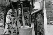Indonesian culture and historical photos