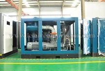 Screw Air Compressor Piston Air Compressor / it is all about the air compressor www.ksaircompressor.com