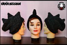 Hoodiegan Crochet/Knitt Beanies