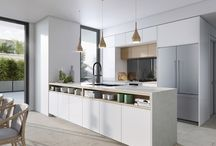 Townhouse 2: Light, White and Family / Modern