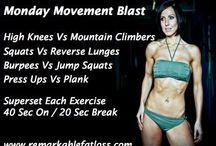Fat Loss Workouts / Kelly Rennie Fat Loss Workouts www.remarkablefatloss.com
